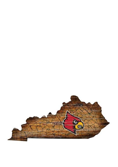 Fan Creations NCAA Louisville Cardinals 24 in x