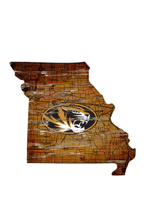 Fan Creations NCAA University of Missouri Tigers Distressed