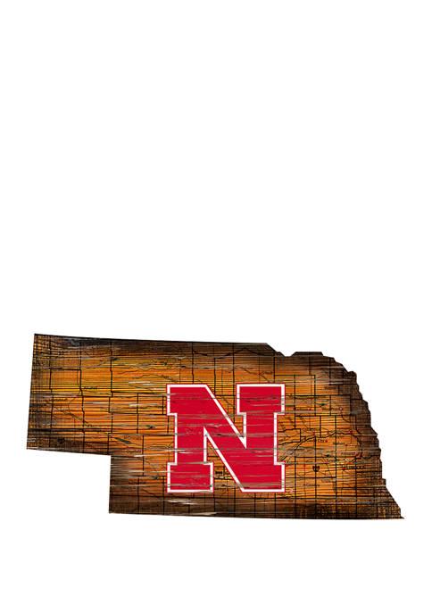 Fan Creations NCAA Nebraska Cornhuskers 24 in x