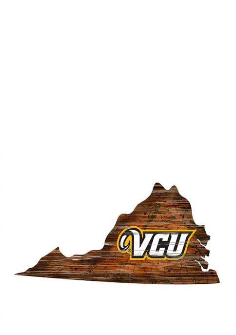 Fan Creations NCAA VCU Rams 24 in x