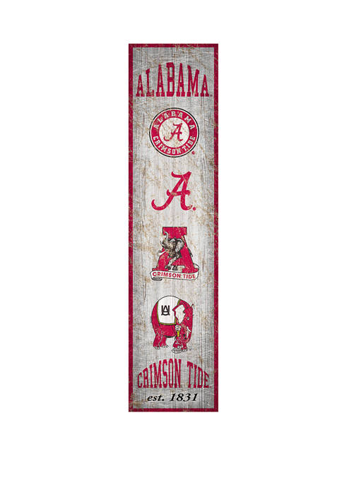 Fan Creations NCAA Alabama Crimson Tide 6 in