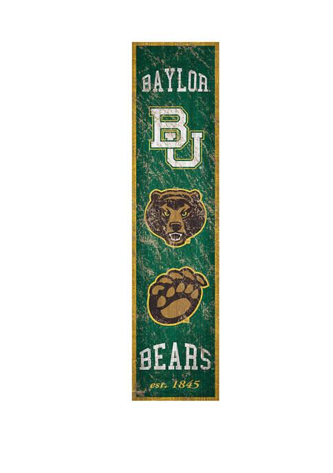 Fan Creations NCAA Baylor Bears 6 in x
