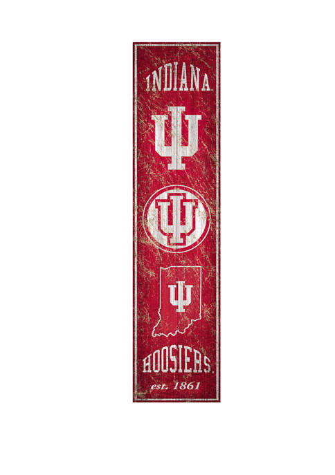 Fan Creations NCAA Indiana Hoosiers 6 in x