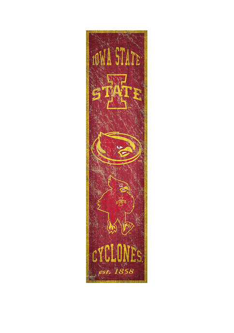 Fan Creations NCAA Iowa State Sycamores 6 in