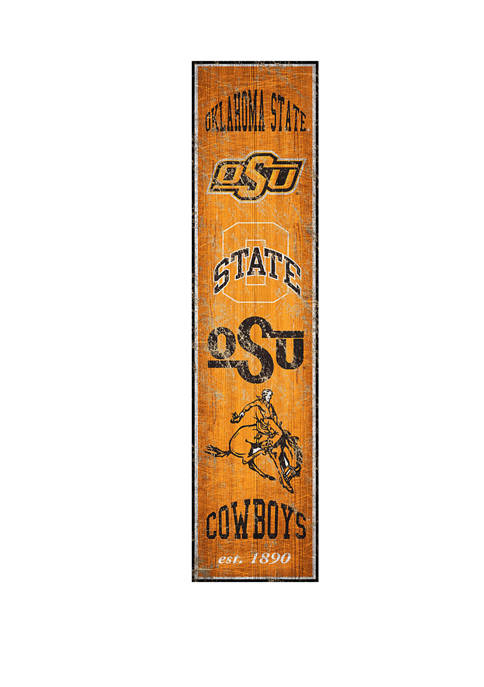 Fan Creations NCAA Oklahoma State Cowboys 6 in