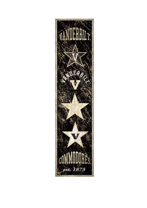 Fan Creations NCAA Vanderbilt University Commodores 6 in