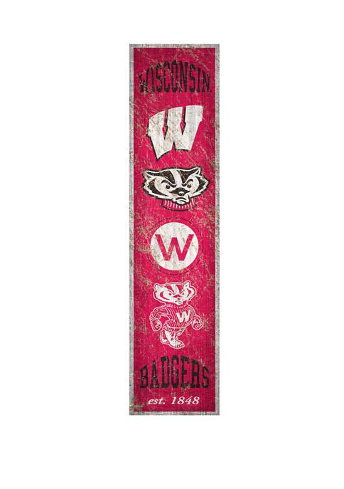 Fan Creations NCAA University of Wisconsin Badgers 6