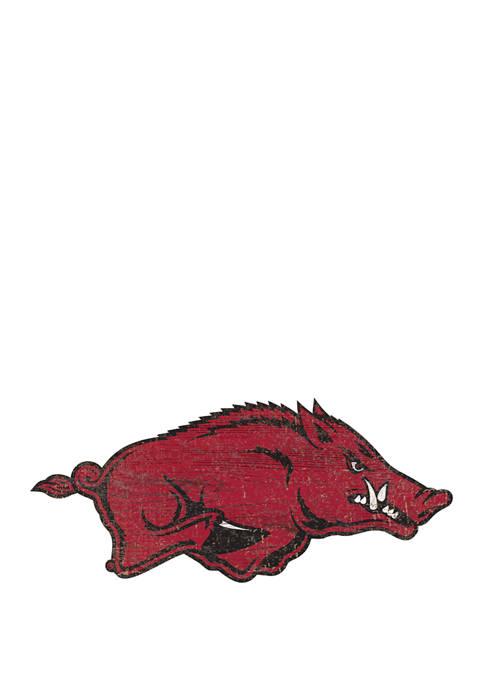 Fan Creations NCAA University of Arkansas Razorbacks Distressed