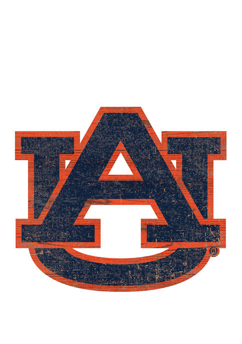 Fan Creations NCAA Auburn University Tigers Distressed Logo