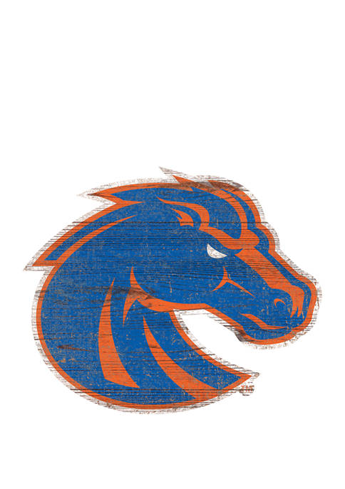Fan Creations NCAA Boise State Broncos Distressed Logo