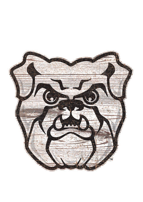 Fan Creations NCAA Butler Bulldogs Distressed Logo Cutout