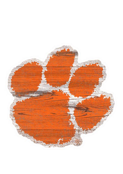 Fan Creations NCAA Clemson University Tigers Distressed Logo