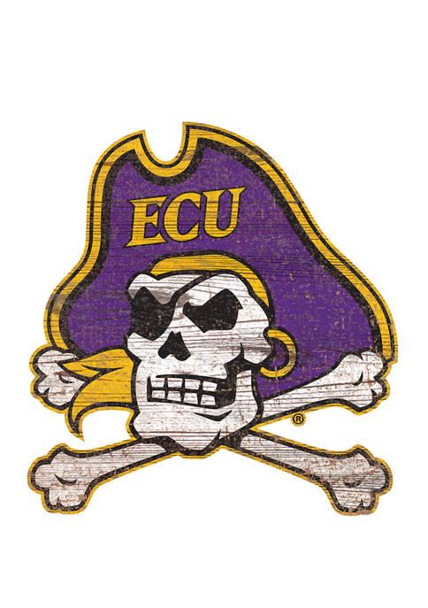 Fan Creations NCAA East Carolina University Pirates Distressed