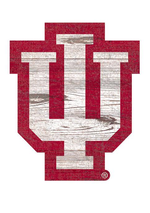 Fan Creations NCAA Indiana University Hoosiers Distressed Logo