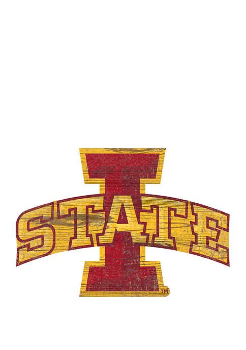 Fan Creations NCAA Iowa State University Sycamores Distressed