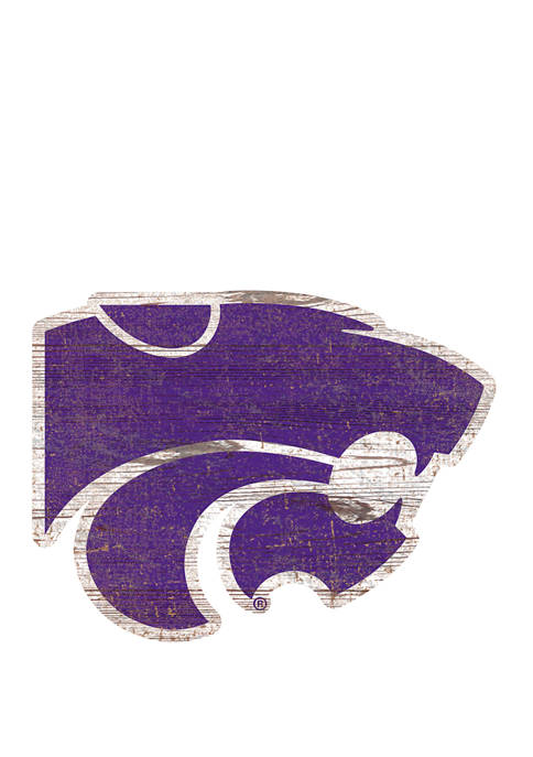 Fan Creations NCAA Kansas State University Wildcats Distressed