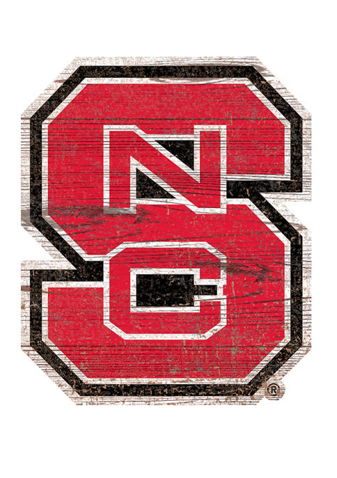 Fan Creations NCAA NC State University Wolfpack Distressed