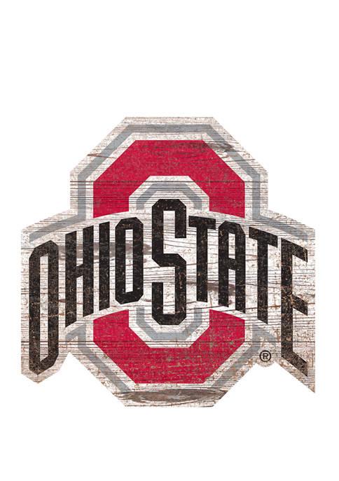 Fan Creations NCAA Ohio State University Buckeyes Distressed