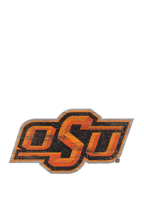 Fan Creations NCAA OK State Cowboys Distressed Logo