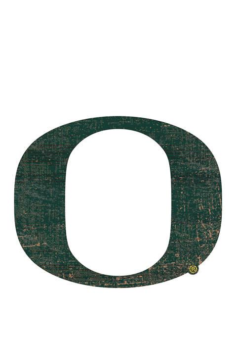 Fan Creations NCAA University of Oregon Ducks Distressed