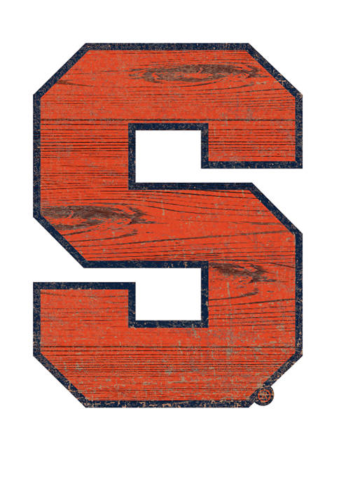 Fan Creations NCAA Syracuse Orange Distressed Logo Cutout