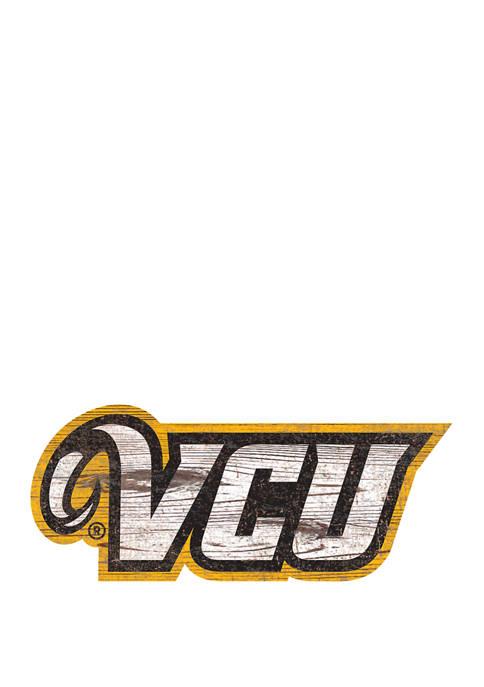 Fan Creations NCAA VCU Rams Distressed Logo Cutout