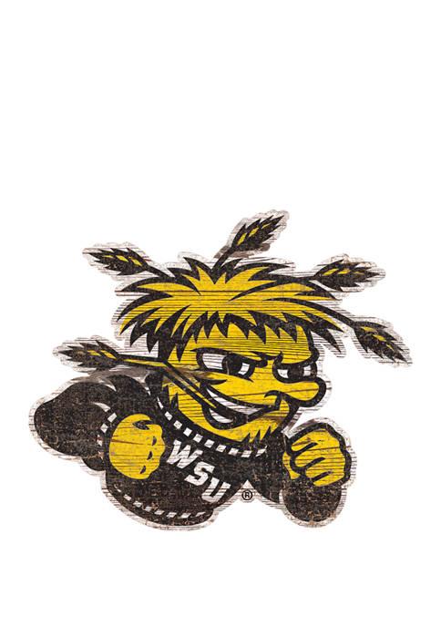 Fan Creations NCAA Wichita State Shockers Distressed Logo