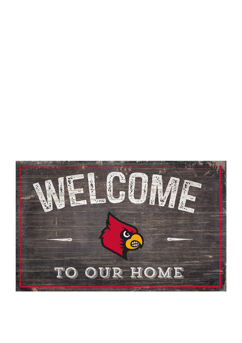 Fan Creations NCAA Louisville Cardinals 11 in x