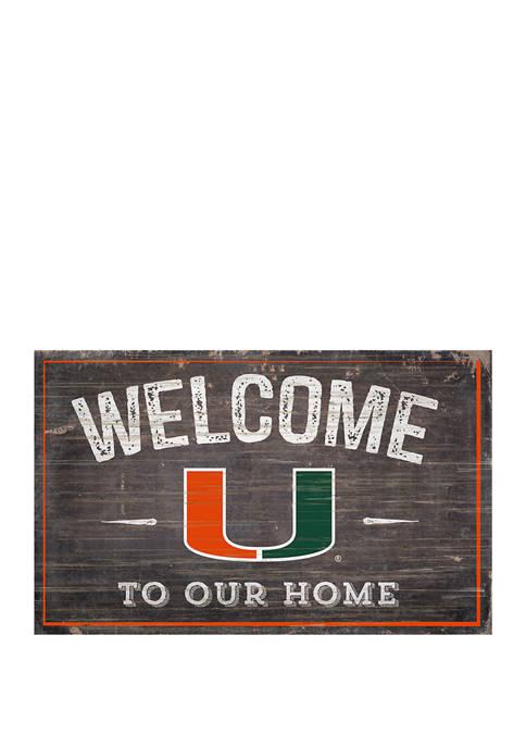 Fan Creations NCAA University of Miami Hurricanes 11