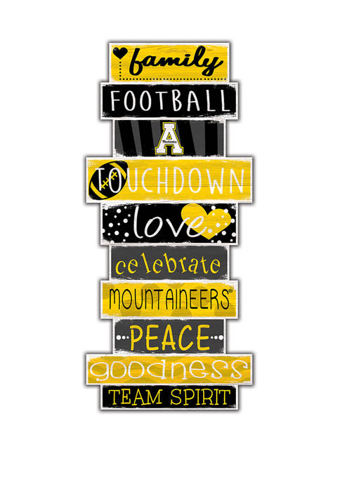 Fan Creations NCAA Appalachian State Mountaineers 24 Inch