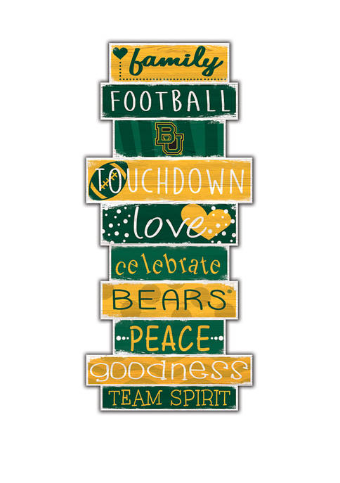 Fan Creations NCAA Baylor University Bears 24 Inch