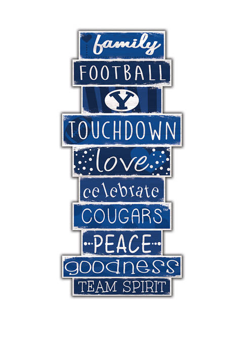 Fan Creations NCAA BYU Cougars 24 Inch Celebrations
