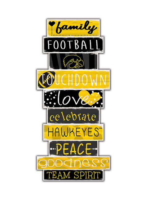 Fan Creations NCAA Iowa Hawkeyes 24 Inch Celebrations