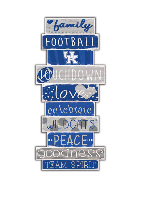 Fan Creations NCAA University of Kentucky Wildcats 24