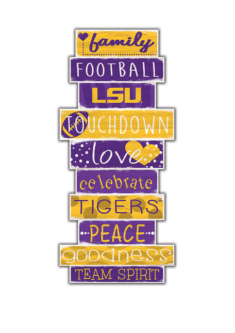 Fan Creations NCAA LSU Tigers Celebrations Stack 24