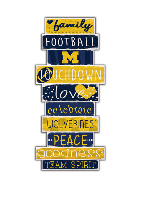Fan Creations NCAA University of Michigan Wolverines Celebrations