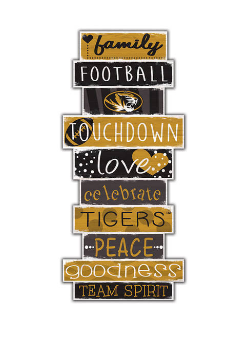 Fan Creations NCAA Missouri Tigers 24 Inch Celebrations