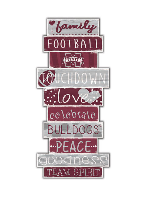 Fan Creations NCAA Mississippi State Bulldogs Celebrations Stack