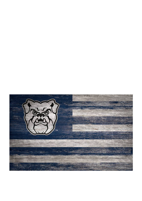 Fan Creations NCAA Butler Bulldogs Distressed Flag 11x19