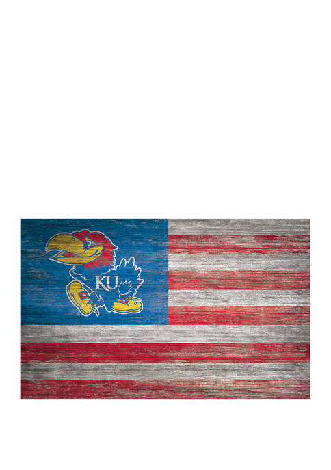 Fan Creations NCAA Kansas Jayhawks 11 in x