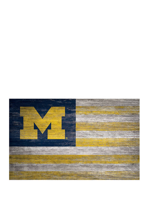 Fan Creations NCAA Michigan Wolverines 11 in x