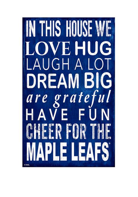 Fan Creations NHL Toronto Maple Leafs 11 in