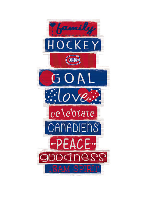 Fan Creations NHL Montreal Canadiens 24 Inch Celebrations