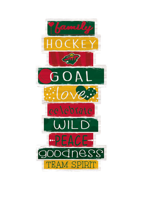 Fan Creations NHL Minnesota Wild 24 Inch Celebrations