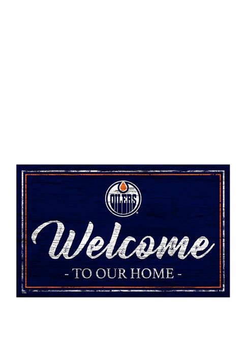 Fan Creations NHL Edmonton Oilers 11 in x