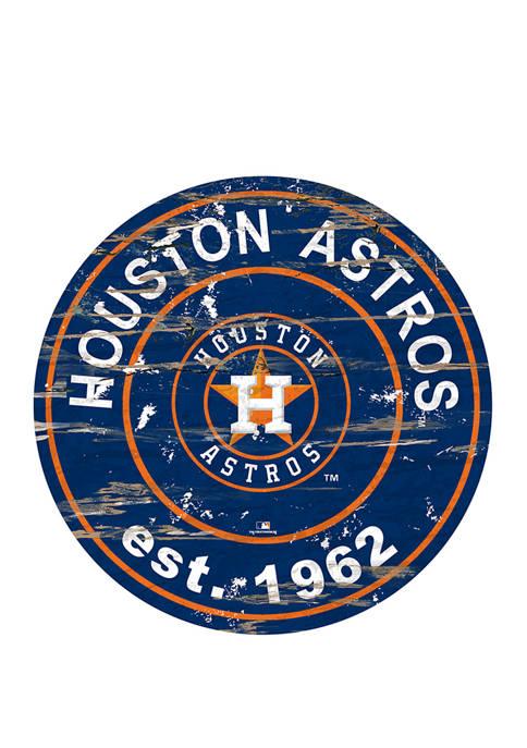Fan Creations MLB Houston Astros 24 Inch Established