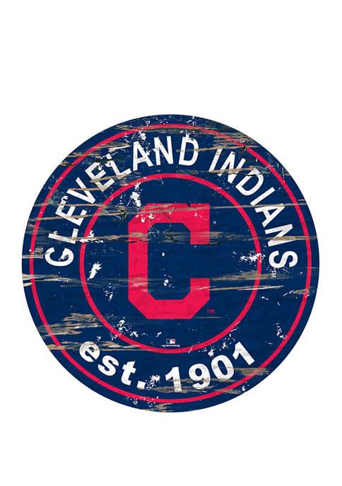 Fan Creations MLB Cleveland Indians 24 Inch Established
