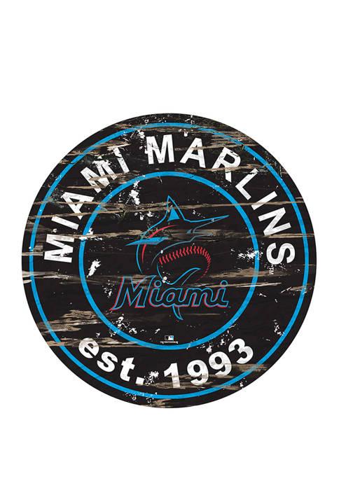 Fan Creations MLB Miami Marlins 24 Inch Established