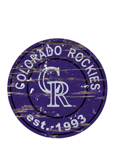 Fan Creations MLB Colorado Rockies 24 Inch Established