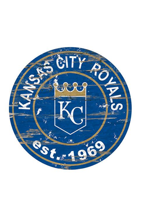 Fan Creations MLB KC Royals 24 Inch Established